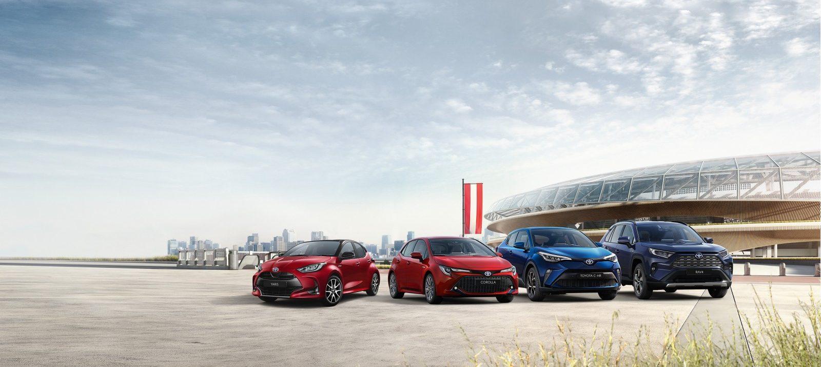 Die hybrid-elektrischen Modelle von Toyota