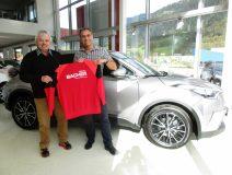 Toyota Bacher sponsert den SV Fügen