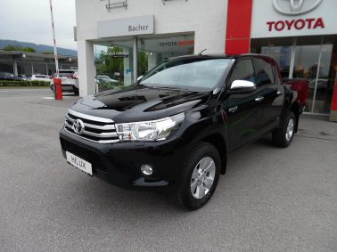 "Toyota Hilux 2,4 D-4D 4WD DOKA Active ""Netto € 27.900,00 (exkl. MwSt.)!"" bei Auto Bacher GmbH in"