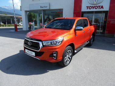 "Toyota Hilux 2,4 D-4D Doka VIP Aut.""LEGEND 50″! (€ 32.990,00 exkl. MwSt.) bei Auto Bacher GmbH in"