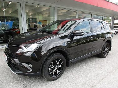 Toyota RAV4 2,5 Hybrid Lounge 4WD Aut. m. Navigationssystem bei Auto Bacher GmbH in
