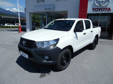 """Toyota Hilux 2,4 D-4D 4WD DOKA GX Country Comfort """"Netto € 23.900,00 (exkl. MwSt.)!"""" bei Auto Bacher GmbH in"""