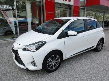 Toyota Yaris 1,0 VVT-i Active m. DESIGN-Paket u. WR bei Auto Bacher GmbH in