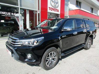 Toyota Hilux 2.4 D-4D DKB Lounge Aut. bei Auto Bacher GmbH in