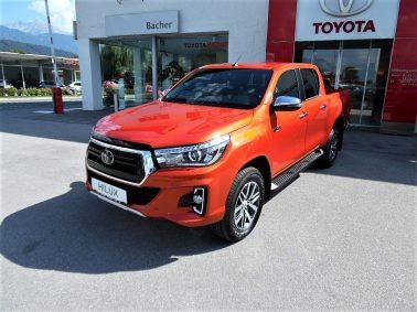 "Toyota Hilux 2,4 D-4D Doka VIP Aut.""LEGEND 50″! (€ 34.000,00 exkl. MwSt.) bei Auto Bacher GmbH in"
