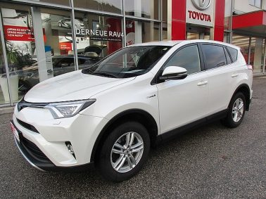 Toyota RAV4 2,5 Hybrid Lounge 4WD Aut. m. Navigationssystem bei Auto Bacher GmbH in